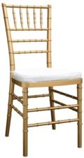 Rental store for CHIAVARI CHAIR - GOLD in Grand Rapids MI