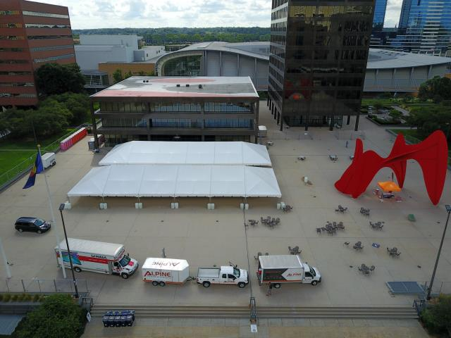 Navi Trac 40x100 Frame Tent Rentals Grand Rapids Mi Where