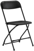 Rental store for FOLDING CHAIR BLACK  STANDARD in Grand Rapids MI